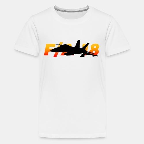 F/A-18 Super Hornet | F 18 | F18 | F/A18 | Hornet - Teenage Premium T-Shirt