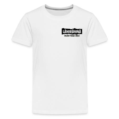 Lähirähinä Officiel - Teinien premium t-paita