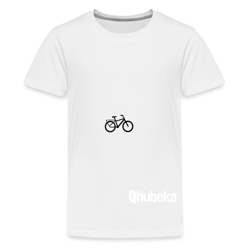 BCL Shirt Back White - Teenage Premium T-Shirt