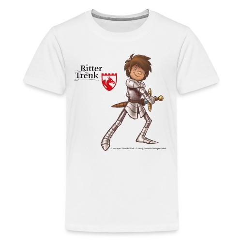ritter trenk fuer dunkle shirts - Teenager Premium T-Shirt