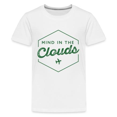 Mit den Gedanken in den Wolken sein - Teenager Premium T-Shirt
