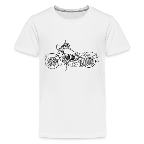 Beste Motorrad Designs - Teenager Premium T-Shirt