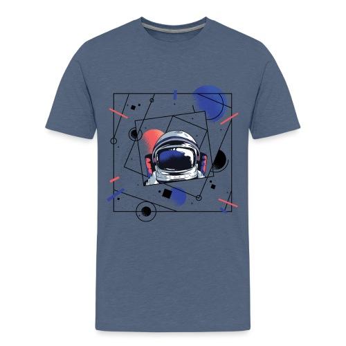 Beste Astronaut Weltraum Designs - Teenager Premium T-Shirt