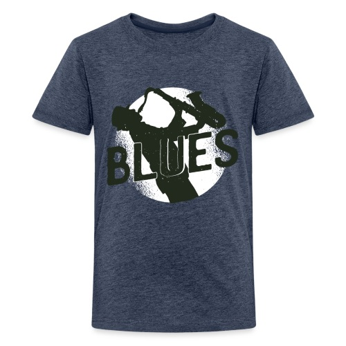 Bestes Blues Design online - Teenager Premium T-Shirt