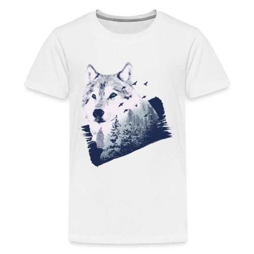 Bestes Wolfswald Design - Teenager Premium T-Shirt