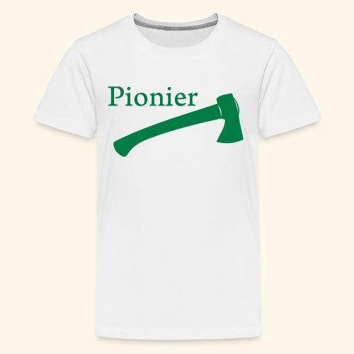 Pionier Axt - Teenager Premium T-Shirt