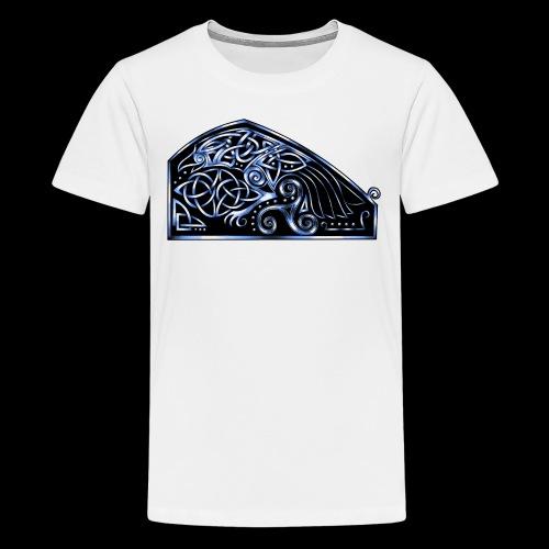 Celtic Raven - Teenage Premium T-Shirt