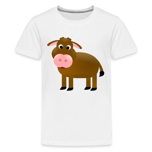 Cow - Teenager Premium T-Shirt