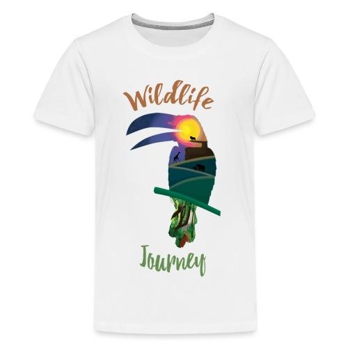 Wildlife Journey - Teenager Premium T-Shirt