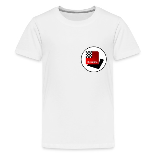 ChessBase Logo - Teenager Premium T-Shirt
