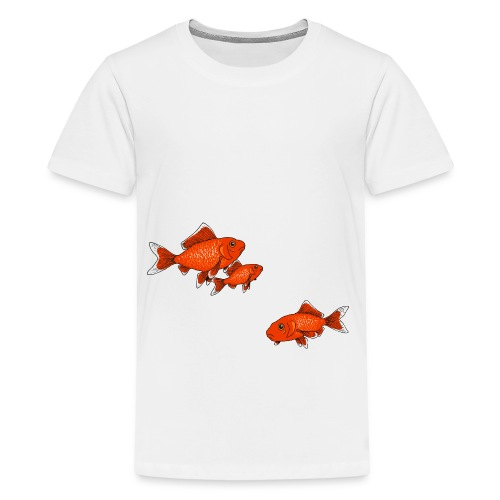 Poissons rouges - T-shirt Premium Ado