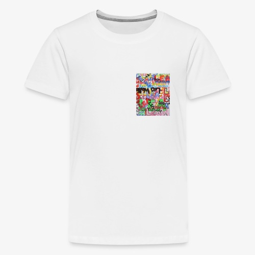 Lea Wallin - Premium-T-shirt tonåring