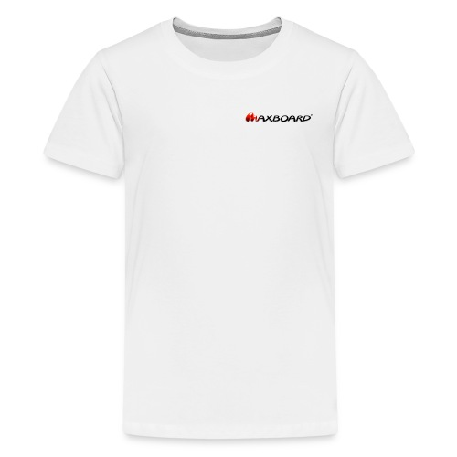 Maxboard Logo black 3D - Teenager Premium T-Shirt