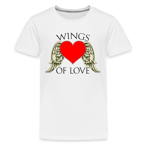 wings of love - Teenage Premium T-Shirt