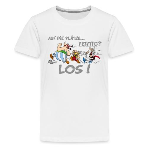 Asterix Obelix Auf die Plätze... Fertig? Los! - T-shirt Premium Ado