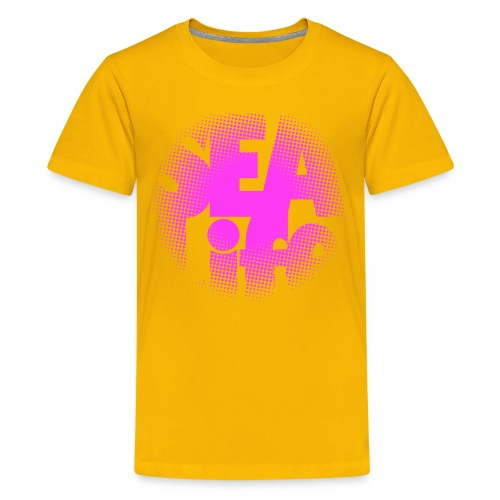 Sealife surfing tees, clothes and gifts FP24R01B - Teinien premium t-paita