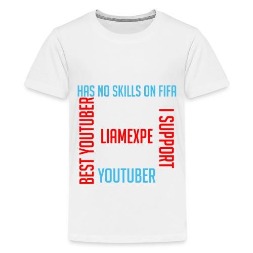 Liam Expe Main - Teenage Premium T-Shirt