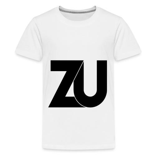 ZU Black png - Teenager Premium T-shirt