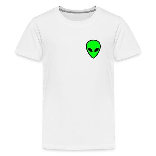 alien face 5 - Maglietta Premium per ragazzi