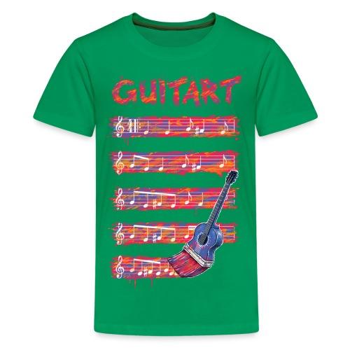 GuitArt - Teenage Premium T-Shirt