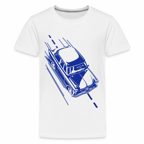 Trabi auf Tour - Teenage Premium T-Shirt