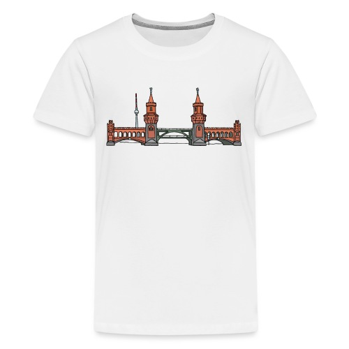 Oberbaumbrücke à BERLIN c - T-shirt Premium Ado