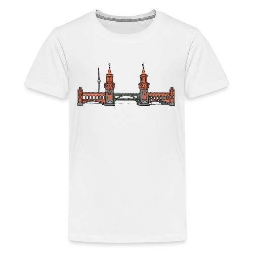 Oberbaumbrücke a BERLINO c - Maglietta Premium per ragazzi