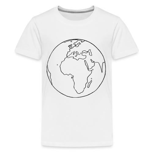 Mutter Erde - Teenager Premium T-Shirt