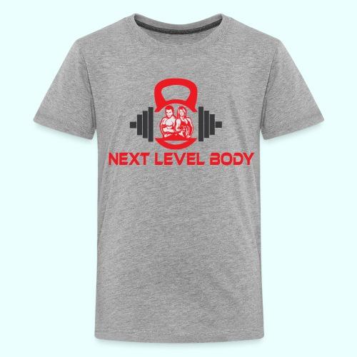 NEXT LEVEL BODY - Teinien premium t-paita