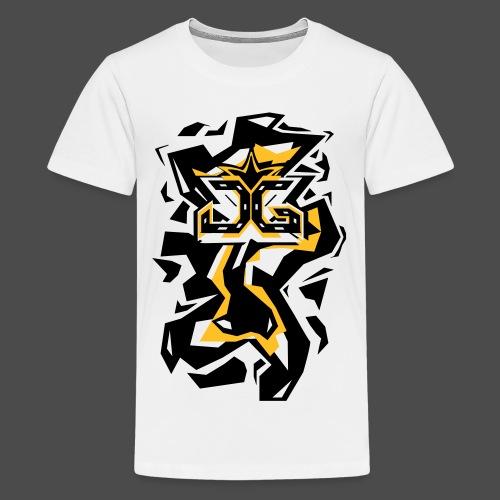 Abstract Shirt Art 2 - Teenage Premium T-Shirt