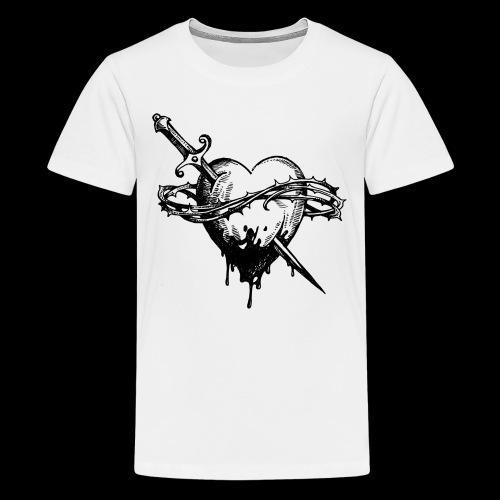 Heart ♥ - Teenage Premium T-Shirt