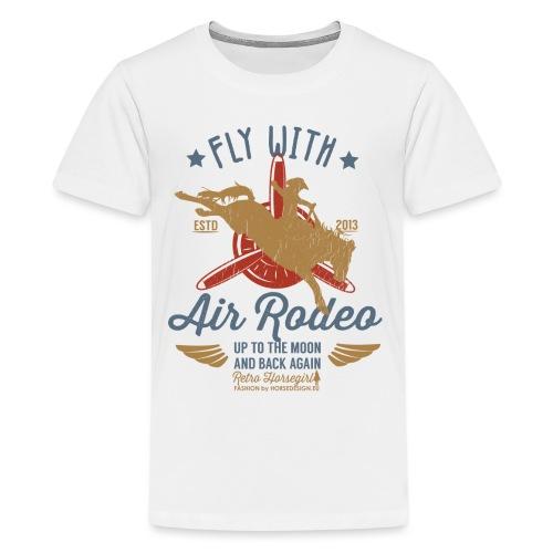 Flieg mit uns - Teenager Premium T-Shirt