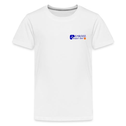 ASM BLEU - T-shirt Premium Ado
