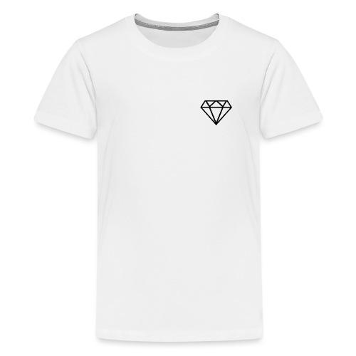 Diamante / Diamond - Camiseta premium adolescente