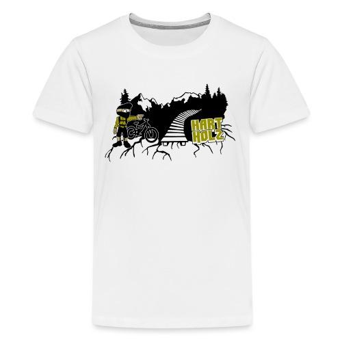 HARTHOLZ OLDSCHOOL - Teenager Premium T-Shirt