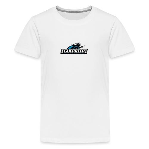 logo sans fond i guerrier - T-shirt Premium Ado