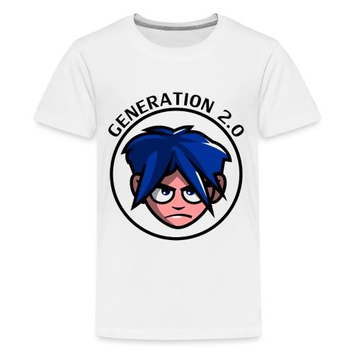 Generation 2.0 - Maglietta Premium per ragazzi
