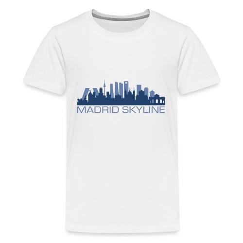 MADRIDSKYLINE - Camiseta premium adolescente