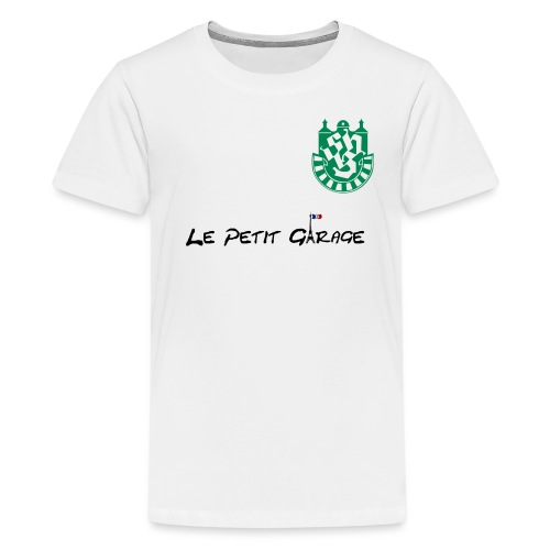 logogaragePNG - Teenager Premium T-Shirt
