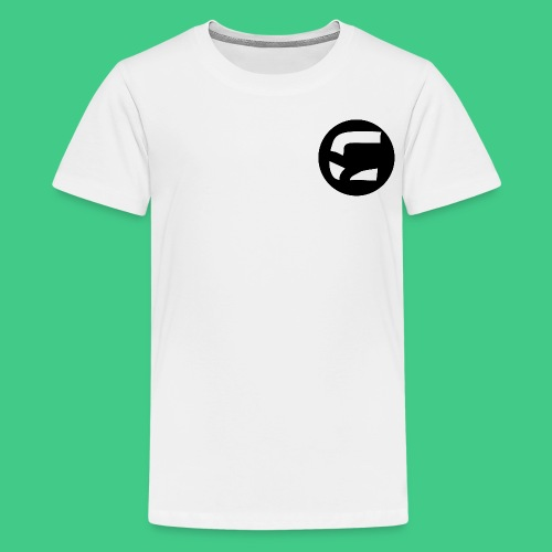 curedcircledesign2 png - Teenage Premium T-Shirt