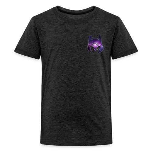 Galaxy wolf - T-shirt Premium Ado