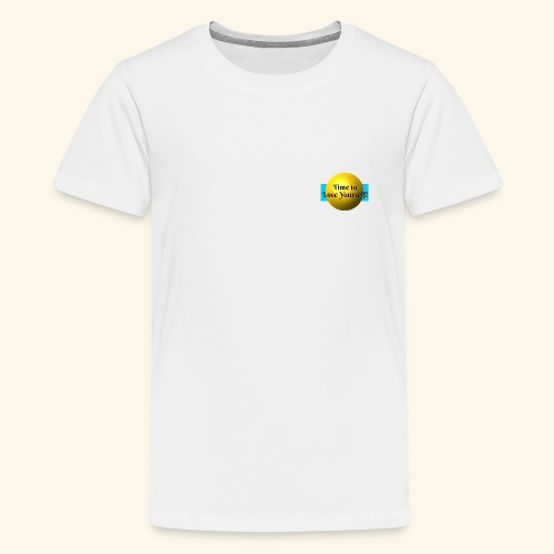 Time to Love Yourself - Teenager Premium T-Shirt