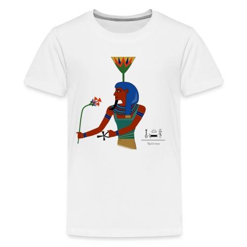 Nefertem I altägyptische Gottheit - Teenager Premium T-Shirt
