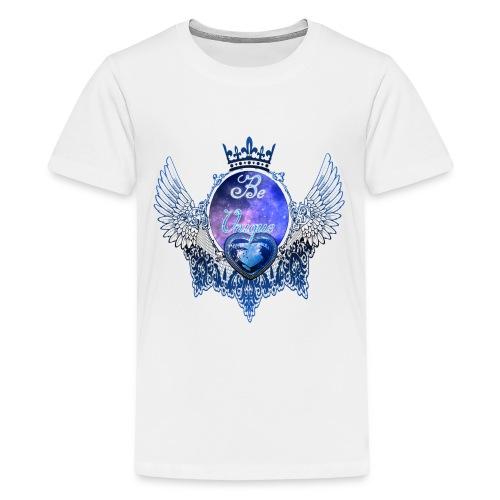 Beautiful-Lace.png - Teenager Premium T-Shirt
