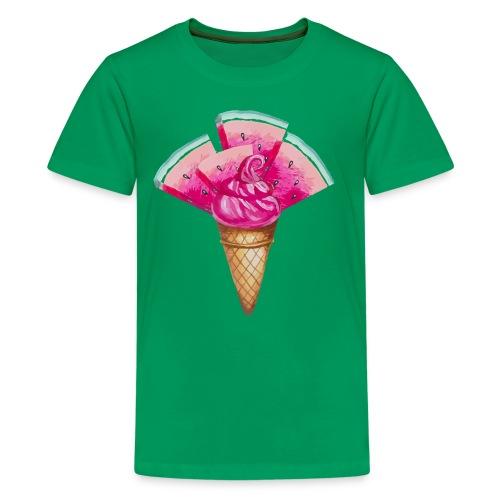 Eis Melone - Teenager Premium T-Shirt
