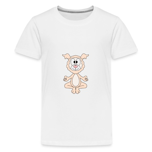 Lustiges Lama - Alpaka - Yoga - Chill - Relax - Teenager Premium T-Shirt
