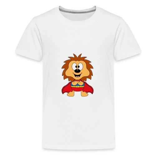 Lustiger Igel - Superheld - Kind - Baby - Tier - Teenager Premium T-Shirt
