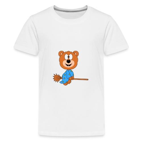Lustiger Teddy - Bär - Hexe - Kind - Baby - Fun - Teenager Premium T-Shirt