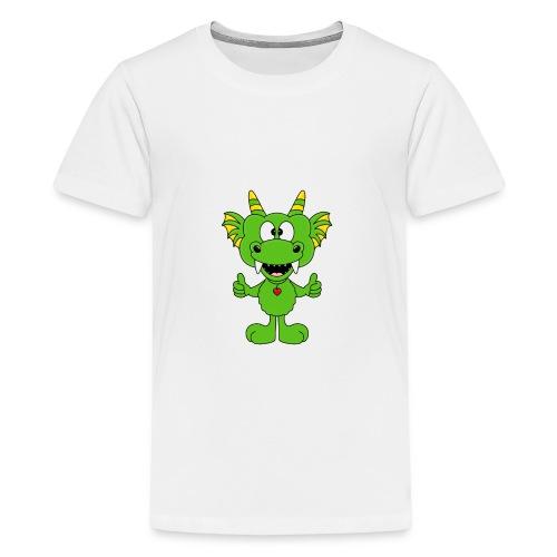 Lustiger Drache - Dragon - Kind - Baby - Fun - Teenager Premium T-Shirt
