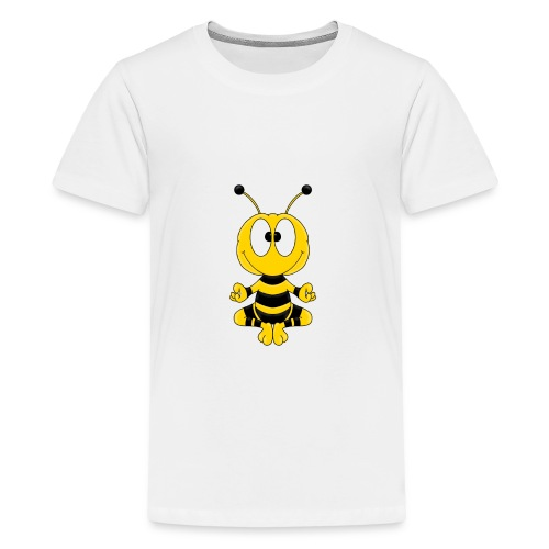 Lustige Biene - Yoga - Relax - Chill - Tier - Fun - Teenager Premium T-Shirt